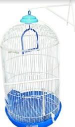 Título do anúncio: Gaiola Bragança Redonda Alta Piu-piu Para Pássaros