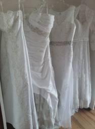 Vendo lote de 45 Vestido de Noiva
