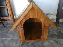 Casa de cachorro de madeira N°3