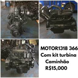Motor Mercedes 366 turbo completo