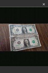 Notas de 1 dólar para Colecionador