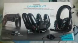 Kit Gamer Avançado DreamGear PS4
