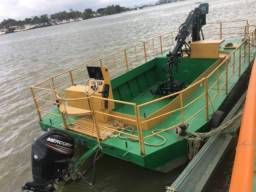 Vendo Balsa nova completa projetada para retirada de Aguapés em rios, lagos e lagoas. - 2019