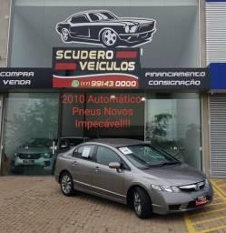 Civic LXL (2010) Automático (pneus novos) Impecável!!! - 2010