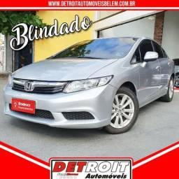 Civic LXL 1.8 Blindado 61.000 KMS - 2013