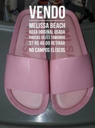Vendo Melissa Beach original rosa