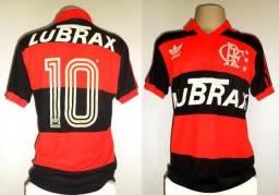 fb5feb8d8c Camisa Flamengo Adidas 1988 1992 de jogo  10 Zico G