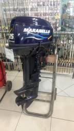 Motor de Popa Maranello, Yamaha 25 Hp partida elétrica - 2017