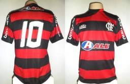 193e17a24e Camisa Flamengo Olympikus 2009 Hexa  10 Adriano M