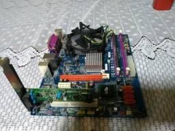 Placa G41t-m2 + Hd + Proce. + Memoria + Fonte + Brinde