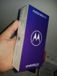 Moto One 64GB 4Gb de Ram Lacrado! Com Nf e garantia!!