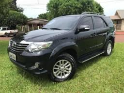 Toyota Hilux SW4 SR 2.7 Flex Completa Preta
