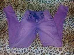 Calça lilás pitbull