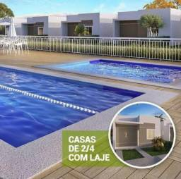 Casa no Condominio Gardenia, Obras avançadas