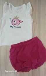 Conjunto bebê My Princess -Tm M