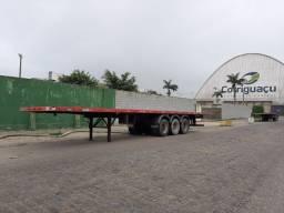 Carreta Porta Container Randon 2007 C/ Pneus