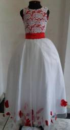 Vestido para Daminhas ou Floristas 120,00 (aceito cartão