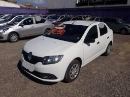 Renault Logan Authentique Flex 1.0 12V 4P 2019 Branco - 2019