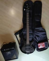 Baixo 5 cordas Ibanez BTB305 ( Fender , Musicman , Tagima, Yamaha , Squier ) comprar usado  Curitiba