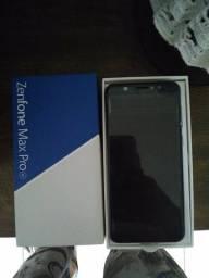 Zenfone Max Pro m1 64GB 4GB RAM, Câmera Dupla, Biometria ok
