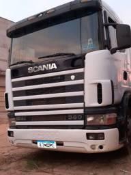 Caminhão scania c carreta ls