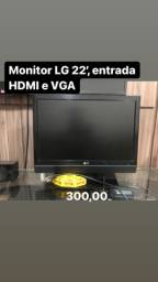 Monitor 22 polegadas LG