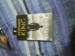 Livros: Stephen King Outsider e Magnus Chase e os Deuses de Asgard-Rick Riordan 60 reais