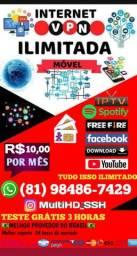 Internet VPN móvel