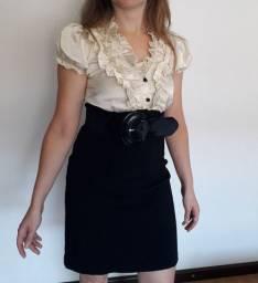 Vestido Social Feminino - Tam P
