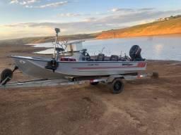 Vendo barco motor 40 hp