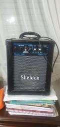 Amplificador Sheldon Violão Microfone