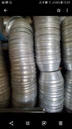 Fôrmas de alumínio tamanho 22