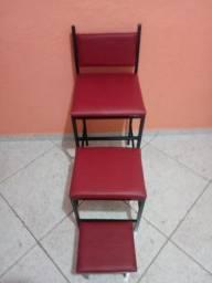 Cadeiras para manicure e pedicure