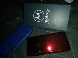 Moto g8 plus novo na caixa,APENAS TROCA