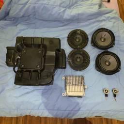 Sistema Bose Fiat 500 completo