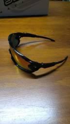 Óculos Ciclismo Black Lentes (Similar Oakley)
