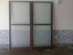 porta de ferro 2 metros