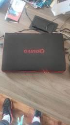 Notebook Gamer Qosmio I5, 8 gb de ram, ssd 120 gb, HD 1 tb.