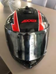 Capacete axxis número 60 fabricado março/20