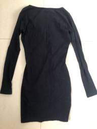 Vestido preto justinho NOVO