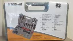 Kit de Ferramentas 100 peças Schulz Novo