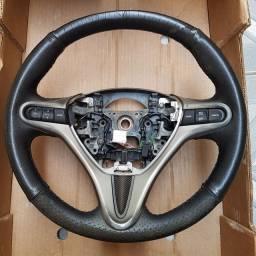 Volante New Civic com controle de som e Cruzeiro
