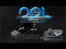 Jogue ps2 via pen drive.