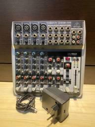 Título do anúncio: Mesa behringer xenys  Q1202 Q 1202 USB interface