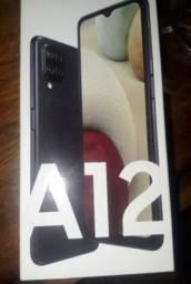 Samsung A12 vermelho novo lacrado