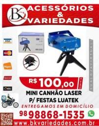 Mini Canhão Laser para festas