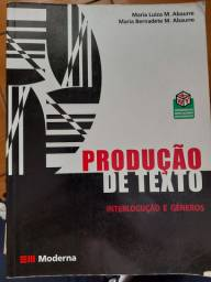 Livro Produção de Texto - Editora Moderna
