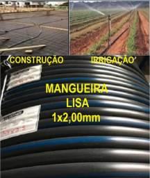 """Mangueira Irrigação e Const. 1"""" x  2,0mm-D Fábrica ou Distribuidor (Leia o Anúncio)"""