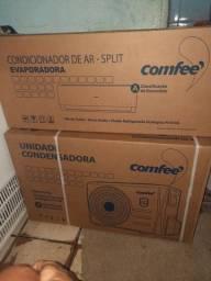 Título do anúncio: Ar-condicionado novo na caixa nota fiscal garantia... #No_Precinho