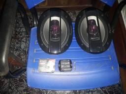 Alto-falante 6x9 Pionner 100w 4 vias
